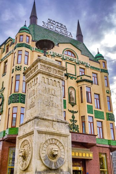 Belgrade / Serbia - November 17, 2019: Hotel Moscow in Terazije Square in downtown Belgrade, Serbia