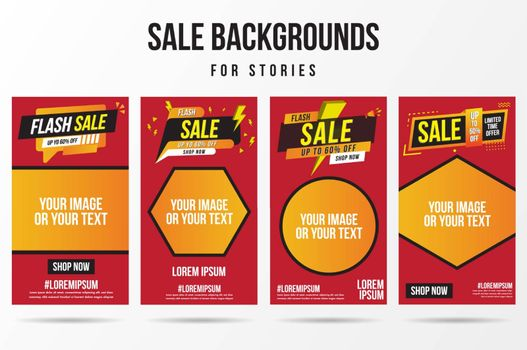 Trendy editable flash sale, special offer and new release template for social networks stories.Cover social media background. Can be use for, website, mobile app, poster, flyer, coupon, web design.