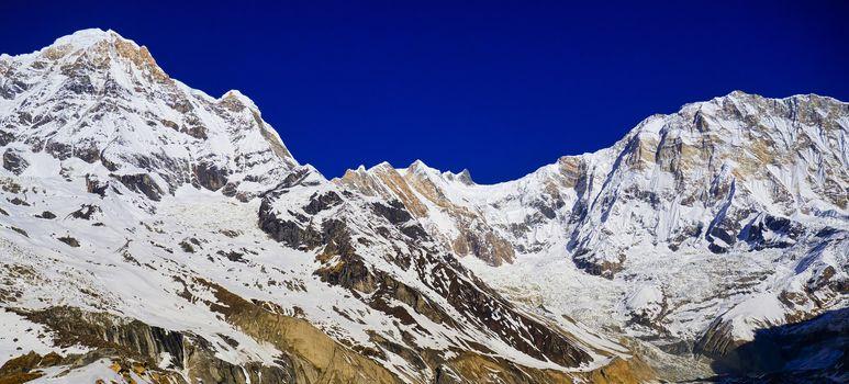 Annapurna South, Annapurna I, Annapurna Conservation Area, Himalaya, Nepal