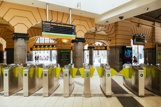 Flinders St Station During the Coronavirus Pandemic