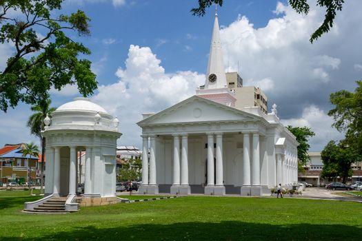 Georgetown, Malaysia, May 2013: St. George's Anglican Church, Georgetown, Penang, Malaysia