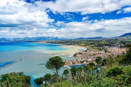 Coastal Sicilian city