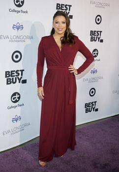 Eva Longoria at the Eva Longoria Foundation Dinner Gala held at the Four Seasons Hotel in Beverly Hills, USA on November 8, 2018.