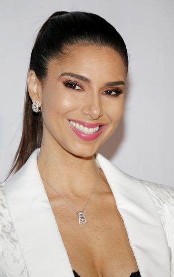 Roselyn Sanchez at the Eva Longoria Foundation Dinner Gala held at the Four Seasons Hotel in Beverly Hills, USA on November 8, 2018.