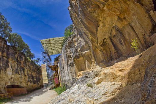 Arqueological Site of Atapuerca, UNESCO World Heritage Site, Spain