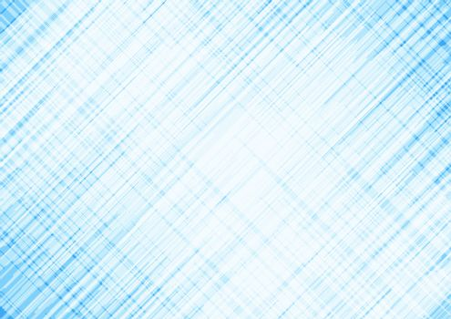 Abstract blue background with white grid lines scratch texture. Vector illustration