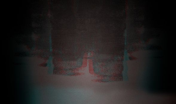 Abstract dark RGB glitch background with noise, Error concept