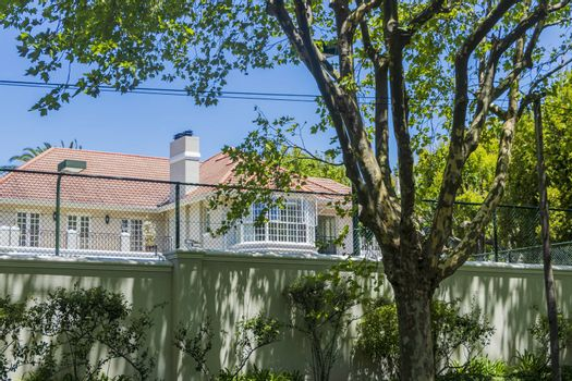 Luxurious property house villa in Bishopscourt, Cape Town, South Africa.
