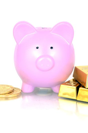 Gold Investing Concept