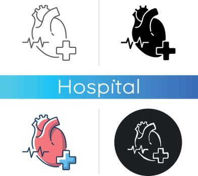 Cardiology department icon