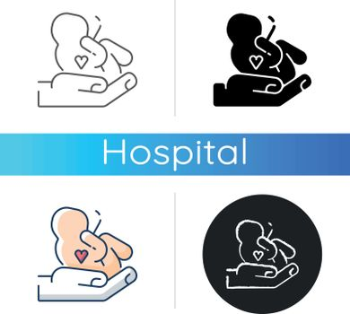 Maternity ward icon