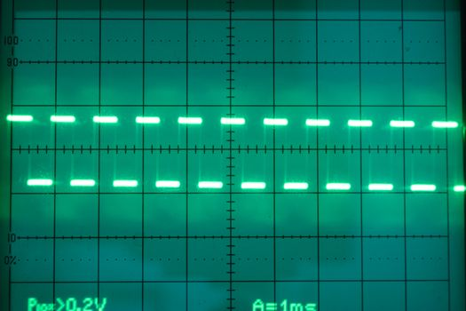 Oscilloscope is a measure of the electrical work. electronics