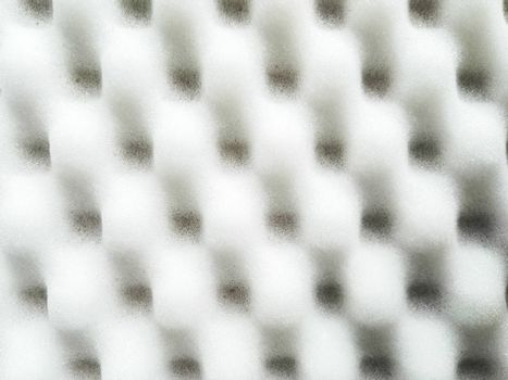White foam sponge texture background