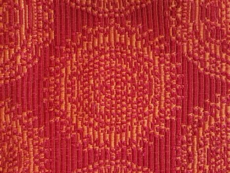 Colerful red fabric texture background.