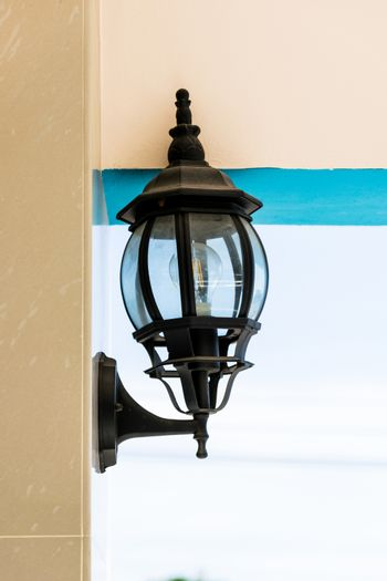 Beautiful vintage wall lamp for home.