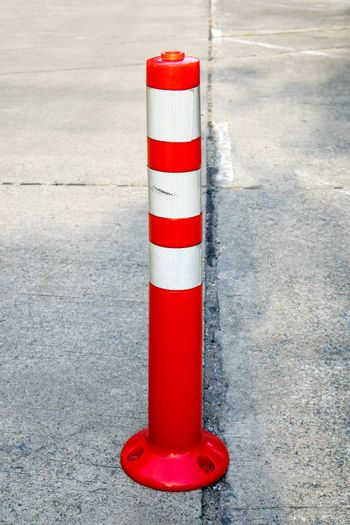 Orange cones are used to symbolize the lack of security check.