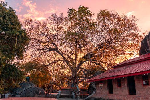 Yatagala Raja Maha Viharaya beautiful evening sunset photography