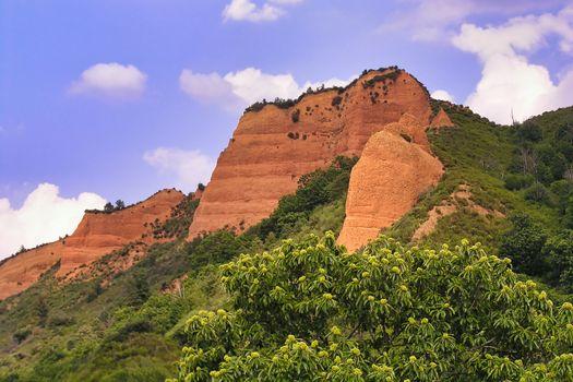 Las Médulas Historic Roman Gold-Mine, Spain