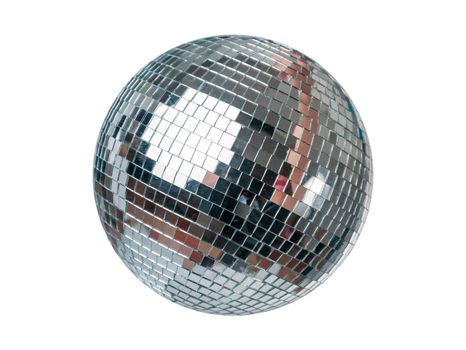 Party Disco Ball isolated on white background