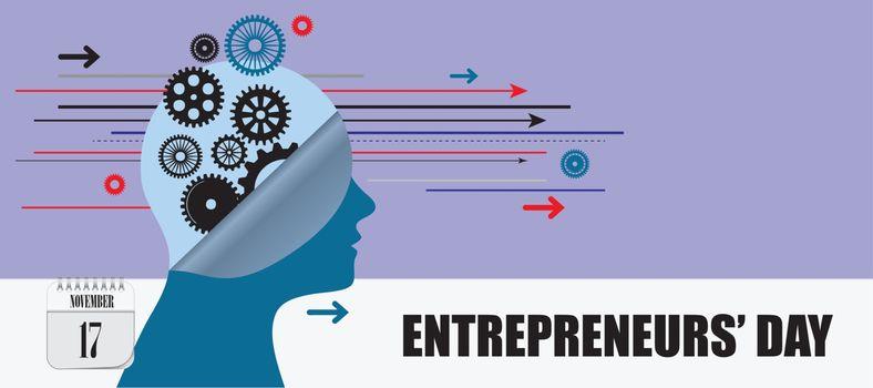 Post card Entrepreneurs Day