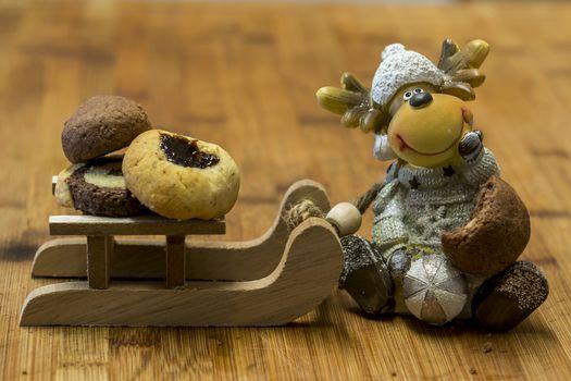 outrageous deco eats santas cookies
