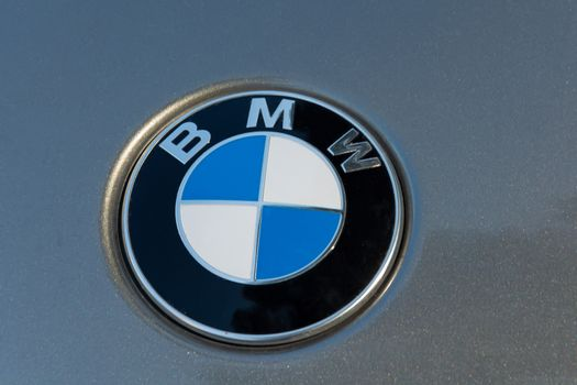 Germany, Berlin - 10/02/2019: BMWT logo on the hood of the car