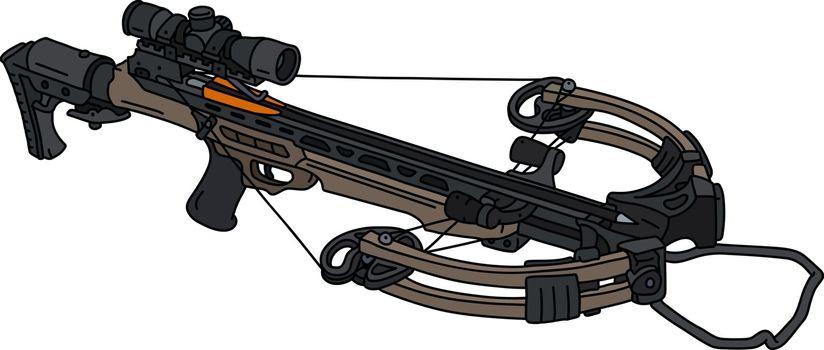The modern sand crossbow