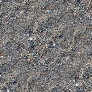 Photo realistic seamless texture pattern of sand at a beach