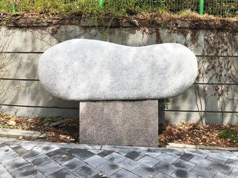 blank stone surface for text