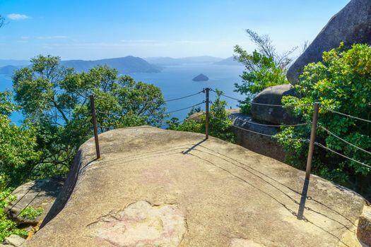 View of the top of Mount Misen, in Miyajima (Itsukushima) Island, Japan