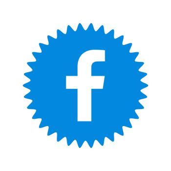 Facebook logo sign. Facebook is a well-known social networking service. Facebook icon . Kharkiv, Ukraine - June, 2020