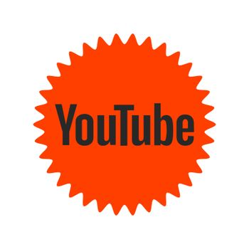 YouTube logo. YouTube is a video-sharing website by Google. YouTube app . Kharkiv, Ukraine - June, 2020