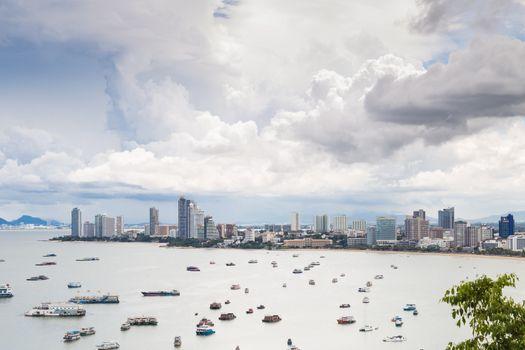 Pattaya city view point.