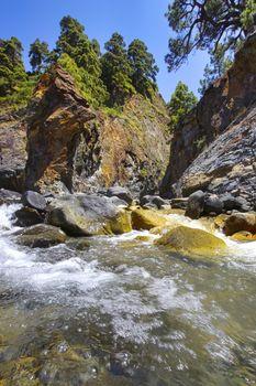 Barranco de Rivanceras, Caldera de Taburiente National Park, Spain