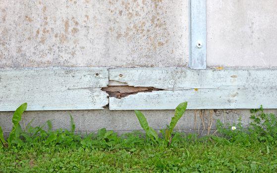 Home repair maintenance wooden frame