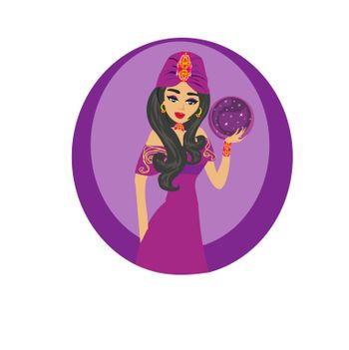 beautiful Fortuneteller woman