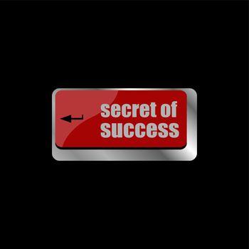 secret of success button on computer keyboard key