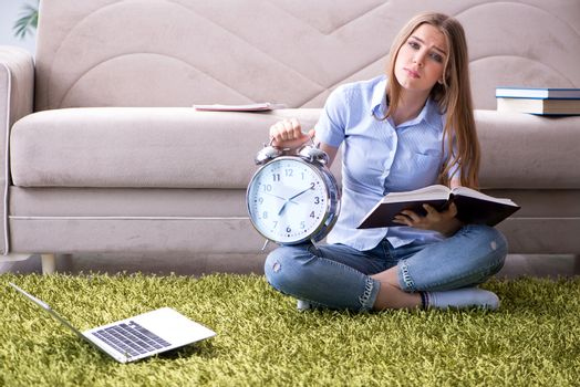 Student failing to prepare to exams due to deadline