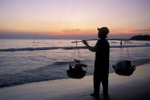 CAMBODIA SIHANOUKVILLE BEACH