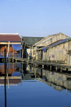 CAMBODIA SIHANOUKVILLE FISHING VILLAGE