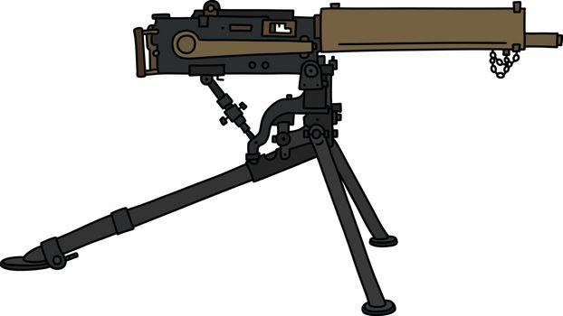 The old machinegun