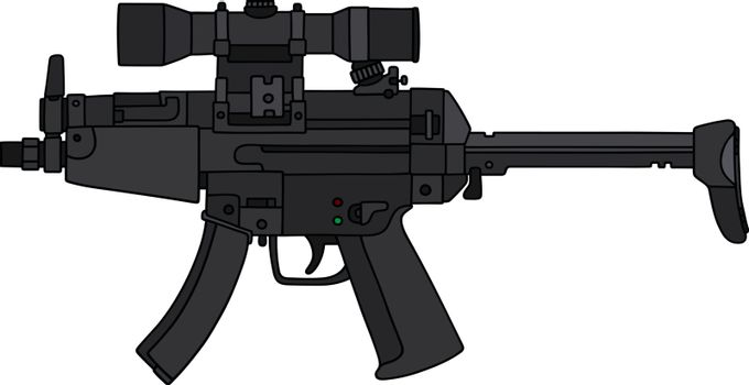 The short automatic gun