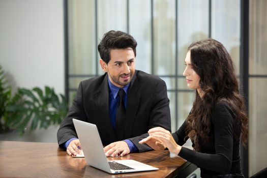 Business people in the modern office