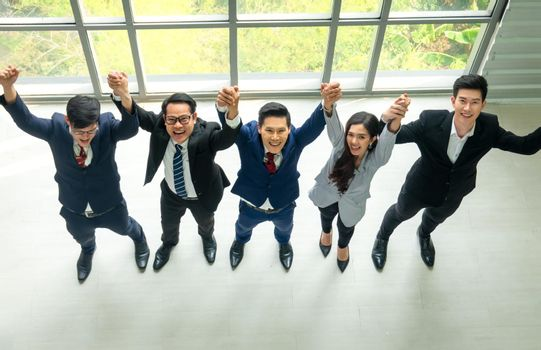 business people unity concept