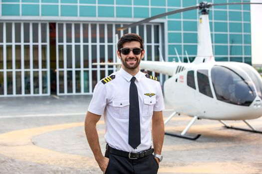 commercial private helicopter pilot
