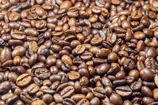 Coffee beans, texture, pattern, background
