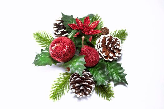 Decorative christmas wreath for interior