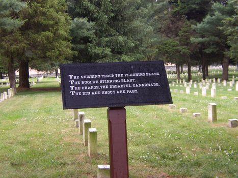 Views of the Civil War battlefield at Murfreesboro, Tennessee