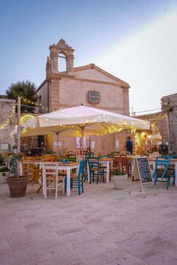 The picturesque village of Marzamemi, in the province of Syracuse, Sicily