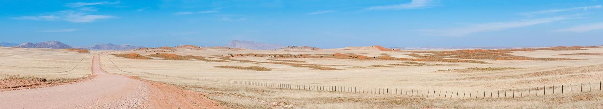 Panorama on road C14 south of the Tropic of Capricorn